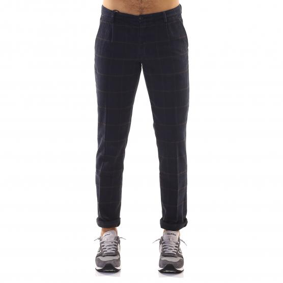 40 WEFT CHECK ALAN TROUSERS 8564 W1679