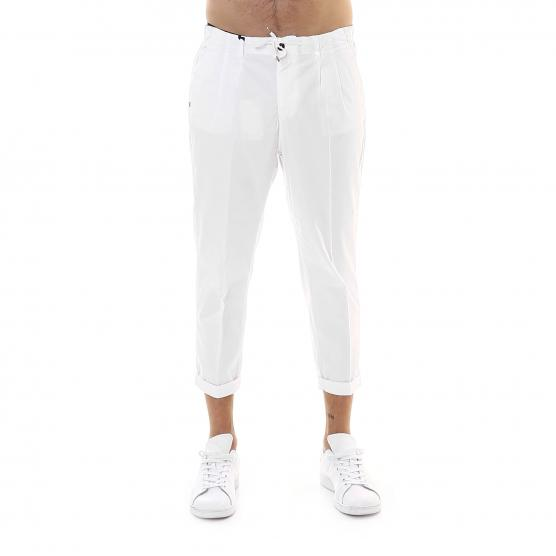 40 WEFT LACE TENCEL STRETCH TROUSERS