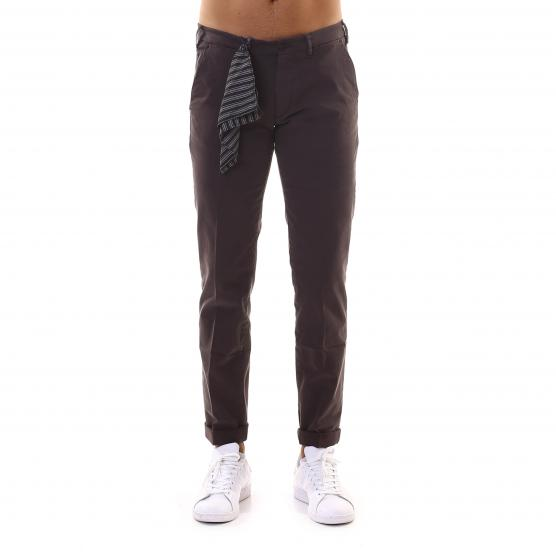 40 WEFT PANTALONE STRETCH LENNY 838 W2085 MARRONE