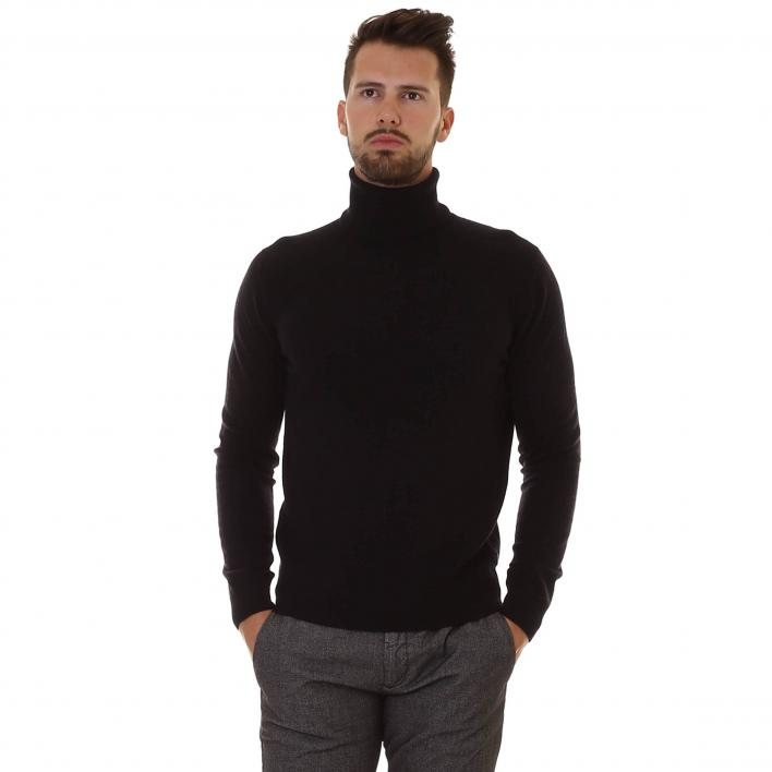 40WEFT HIGH WOOL NECK SWEATER