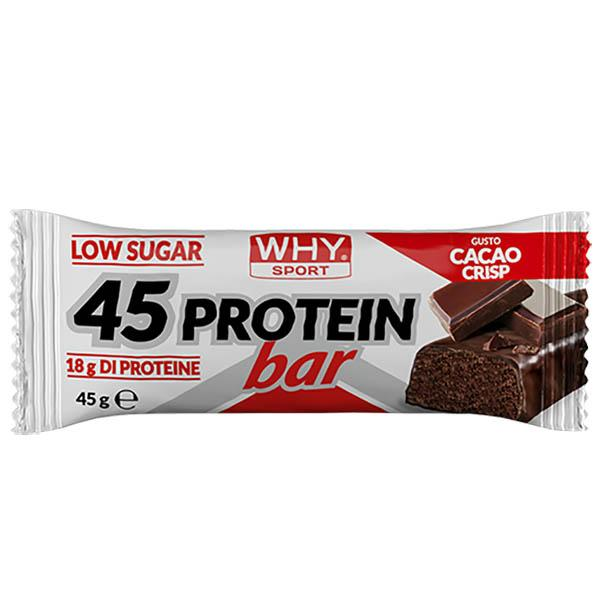 WHY SPORT 45 Protein Bar Choco Crisp
