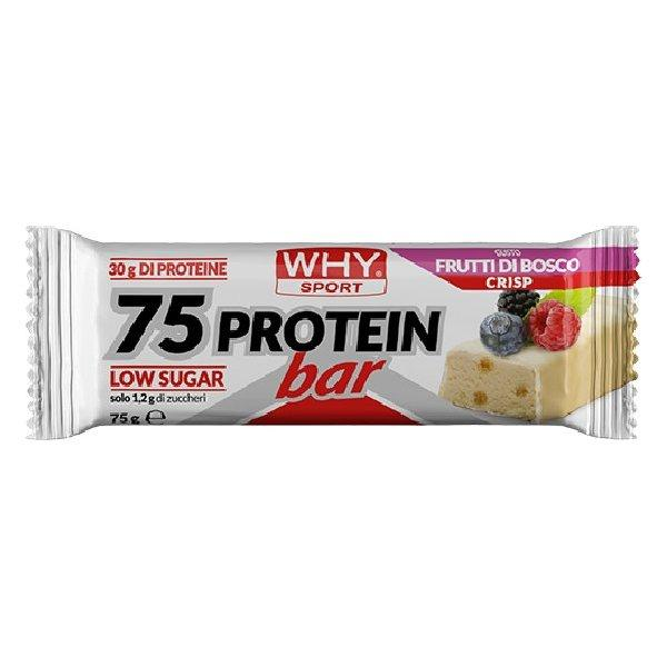 WHYSPORT 75 PROTEIN BAR BERRIES 75 G