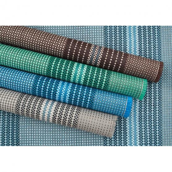 ARISOL Light Blue mat 250x450 for camping porch