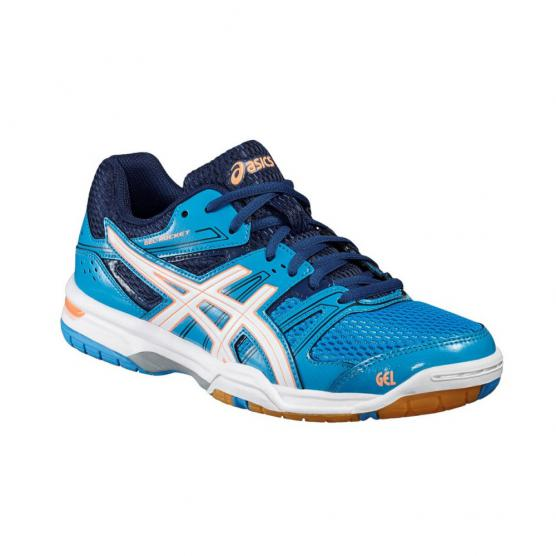ASICS GEL ROCKET 7 W 4301 BLUE/FLASH CORA
