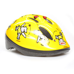 BELL ZOOM Casco Bimbo Ciclo Yellow