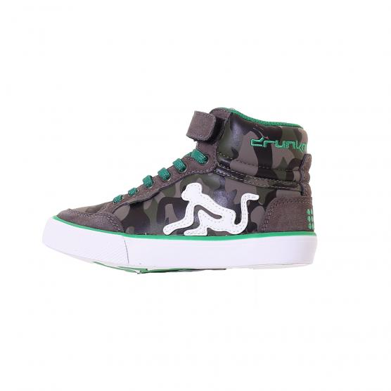 DRUNKNMUNKY BOSTON  CAMU BOY & GIRL 229 GREY GREEN