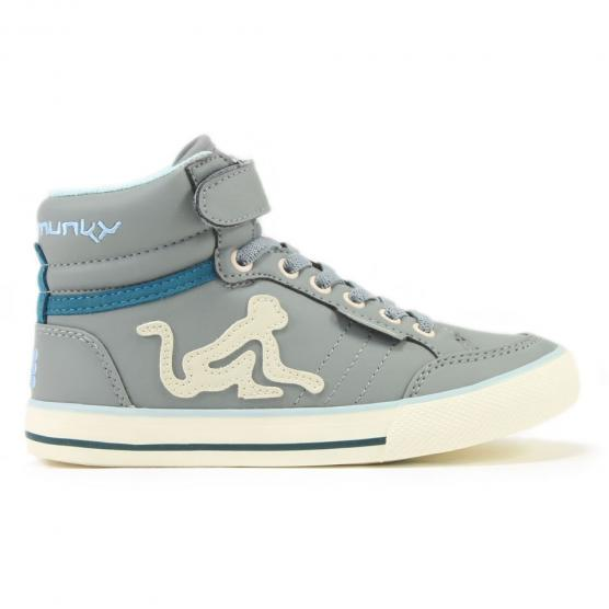DRUNKNMUNKY BOSTON  CLASSIC BOY & GIRL 196 GREY M