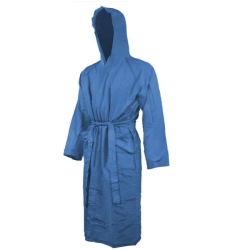 BUNF Junior Blue Microfiber Bathrobe