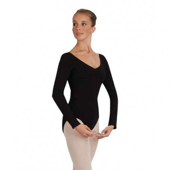 CAPEZIO LONG-SLEEVE LEOTARD
