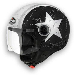 Image of airoh compact casco jet shield
