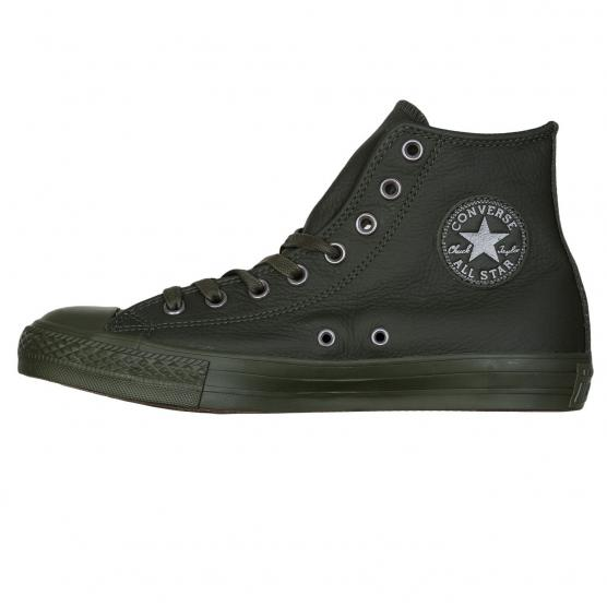 CONVERSE ALL STAR HI LEATHER VERDE SCURO