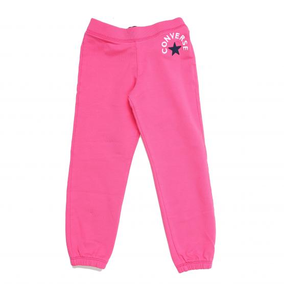 CONVERSE FL RELAX PANT PINK PAPER BAMBINO