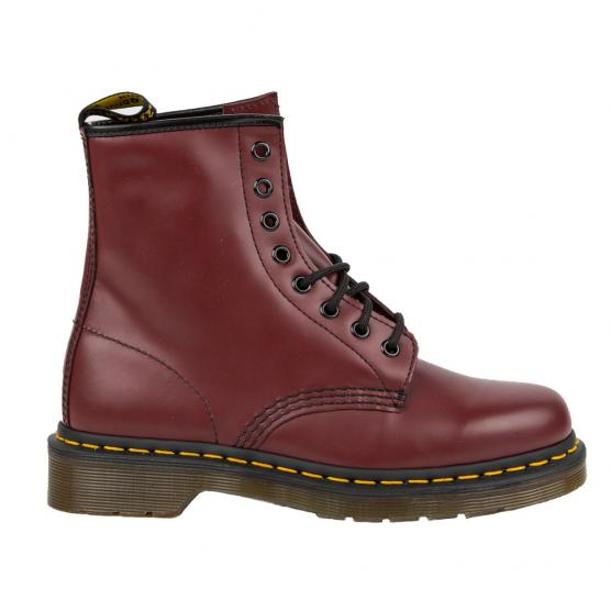 DR MARTENS 1460 DMS SOL CHERRY RED SMOOTH