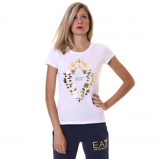 EA7 TRAIN GRAPHIC SERIES W TEE SS RN1 DONNA
