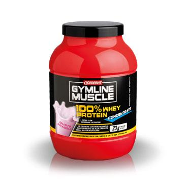 ENERVIT GYMLINE 100% WHEY CONCENTRATE FRAGOLA