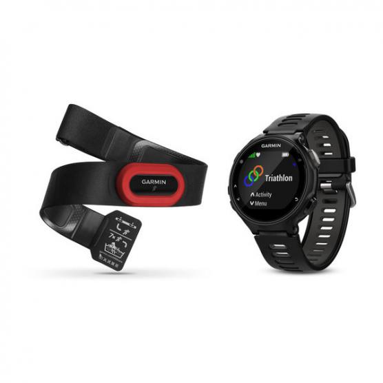 GARMIN FORERUNNER 735XT RUN BUNDLE BLACK/GRAY