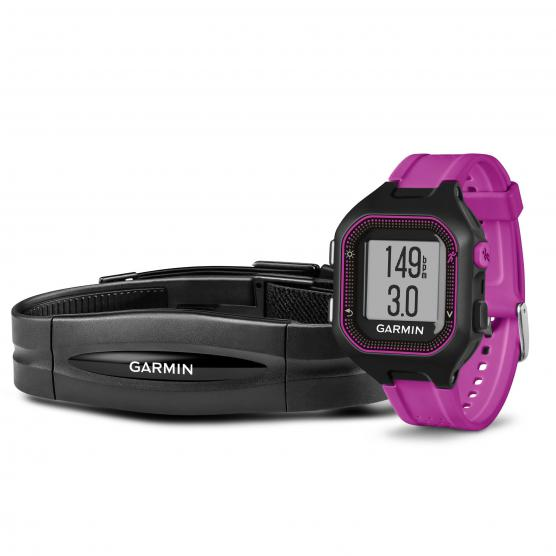 GARMIN Forerunner 25 Small Black/Purple + HRM