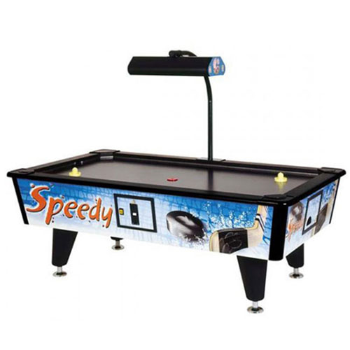 GARLANDO Speedy Air Hockey Nero