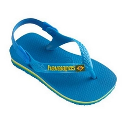 HAVAIANAS Baby Brasil Infradito Junior Light Blue