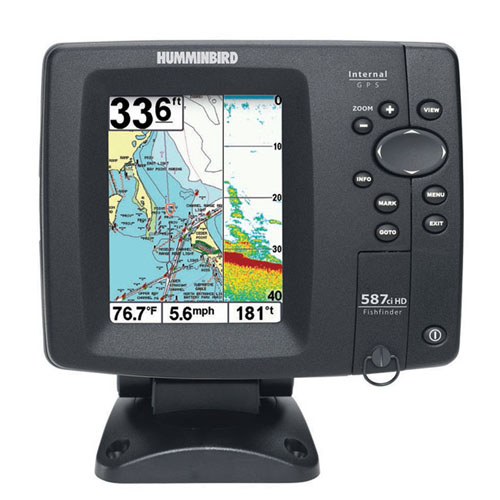 HUMMINBIRD Fishfinder 587CXI  HD Combo
