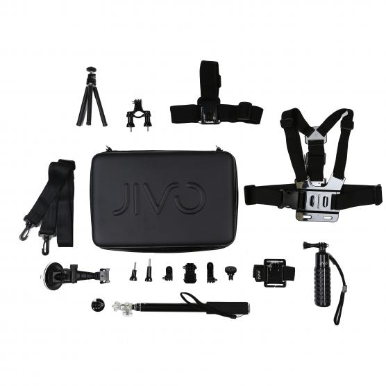 JIVO GO KIT FOR GOPRO & ACTION CAM