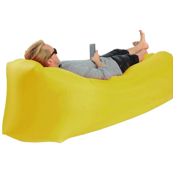 LAY BANANA BAG GIALLO SOFA' GONFIABILE