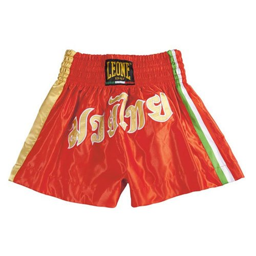 Leone Shorts Italy for Kick / Thai RED