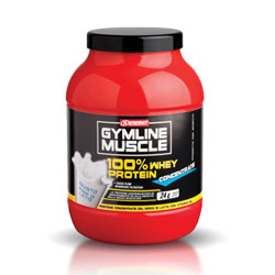 ENERVIT Gymline Muscle 100 Whey Concentrate Latte