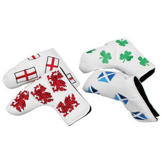 Masters Golf HeadKase Flag Putter Cover Galles