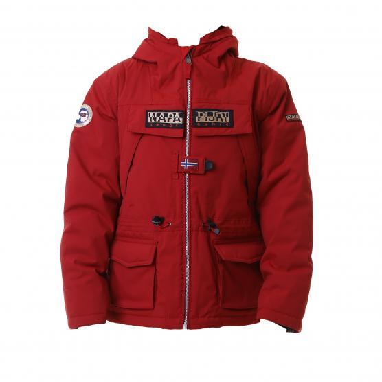 Image of napapijri k skidoo open nf old red