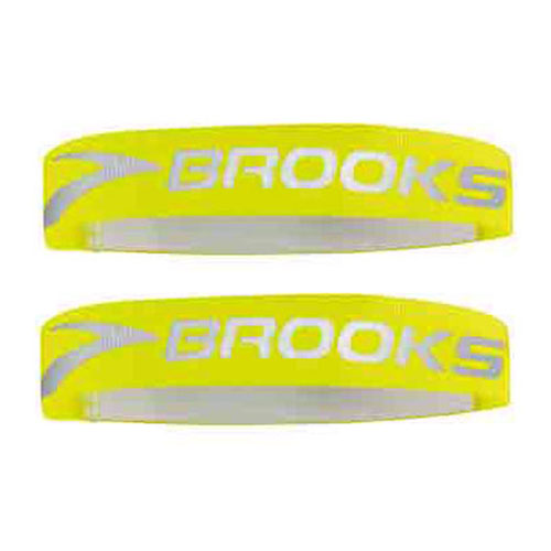 BROOKS NightLife Arm And Leg Bands II Running Giallo Fluo/Argento