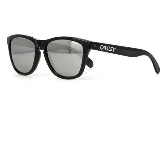 Oakley FROGSKINS BLACK INK/CHROME IRD POLARIZED