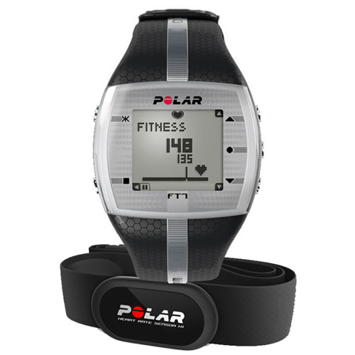 POLAR  FT7 Black Silver