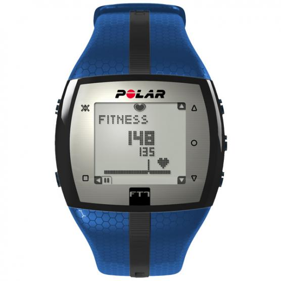 POLAR FT7 MAN BLU/ BLACK