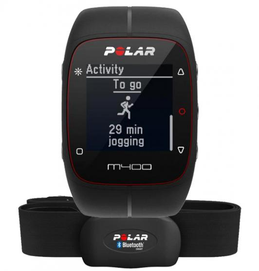 POLAR M400 NERO HR
