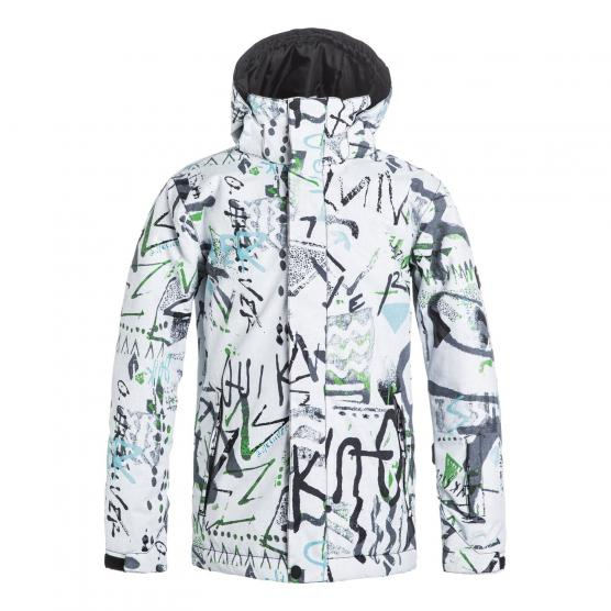 QUIKSILVER MISSION PRINTED YOUT JKT WBB7