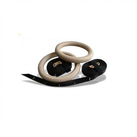 SCHIAVI GYMNASTICS RINGS WOOD