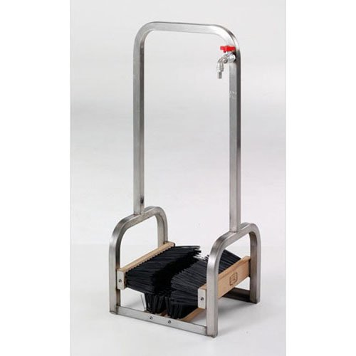SCHIAVI Shoe washer in Stainless Steel Art. 1216