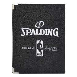 SPALDING Mini Cartellina Notebook Official NBA Nera