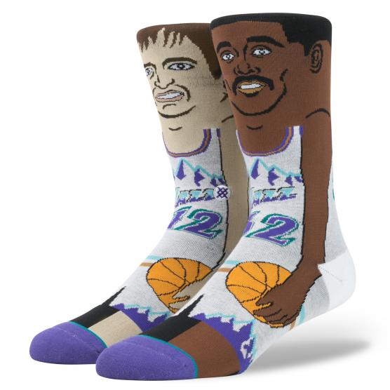 STANCE J.STOCKTON/K.MALONE PURPLE