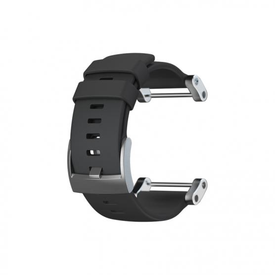 CORE FLAT BLACK RUBBER STRAP