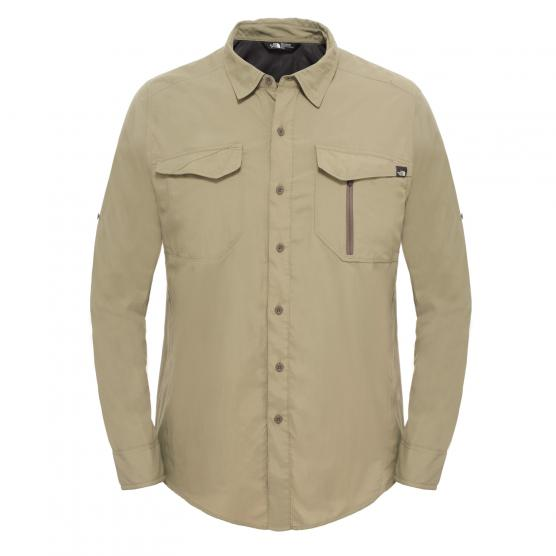 THE NORTH FACE M L/S SEQUOIA SHIRT  MOUNTAIN MOSS