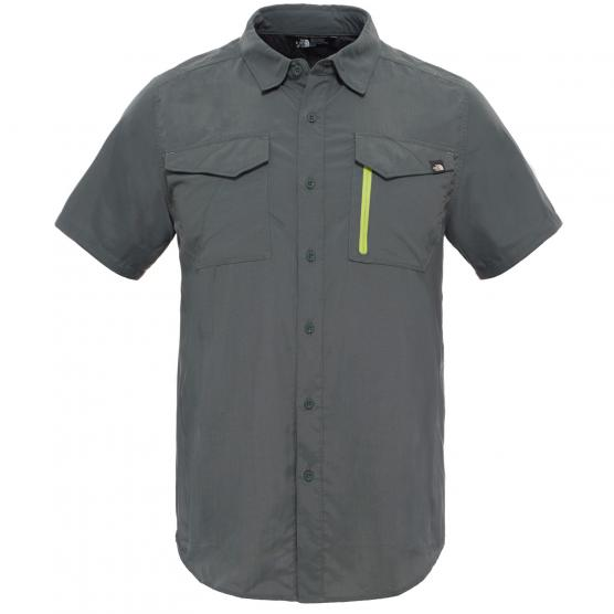 THE NORTH FACE M S/S SEQUOIA SHIRT  SPRUCE GREEN