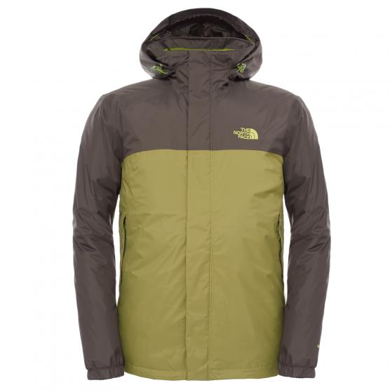 THE NORTH FACE TNF M RESOLVE DOWN JKT GP GN/ BK IK GN