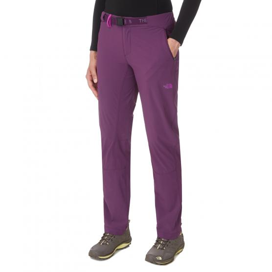 THE NORTH FACE TNF W SPEEDLIGHT PANT BLK CRNT PURPLE
