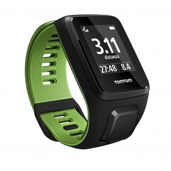 TOMTOM RUNNER 3 BLACK/GREEN L