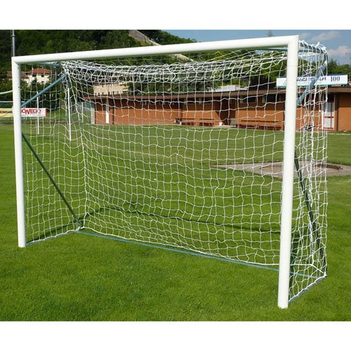 VIVISPORT Pair of Transportable Aluminum Futsal Goals art 6802