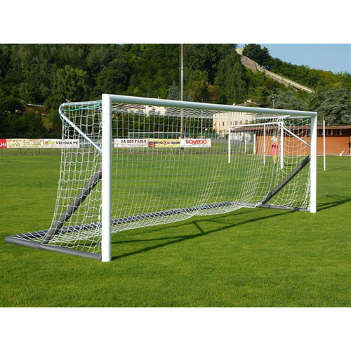 VIVISPORT Pair of 6x2 Portable Aluminium Football Goals art 5911