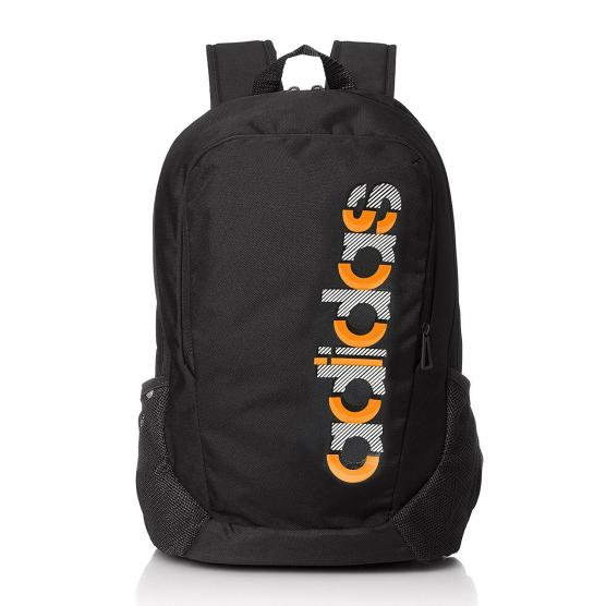 ADIDAS BP LOGO NEOPARK BLACK/BLACK/ORANGE