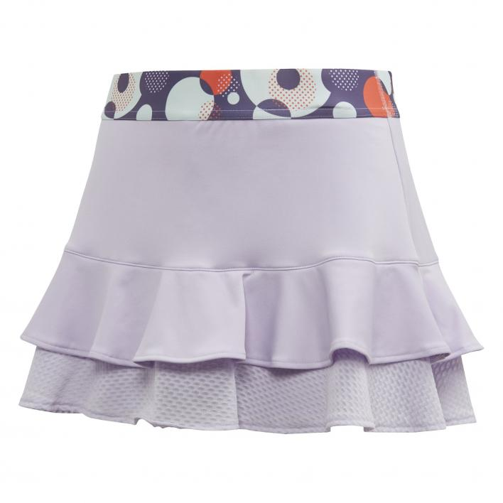 ADIDAS G FRILL SKIRT PURPLE TINT